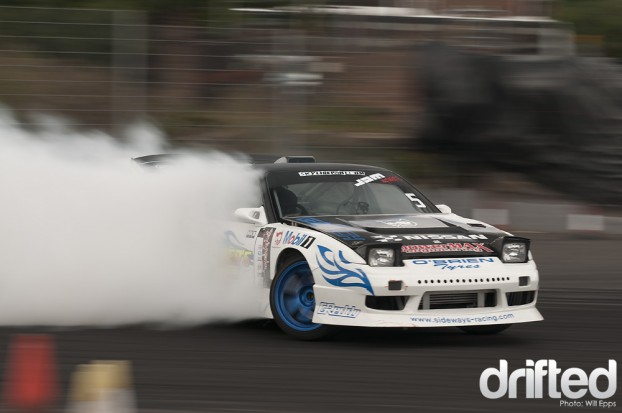 Duane McKeever Drifting RB26DET S13 200sx Nissan