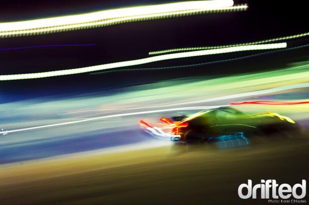 350Z drifting