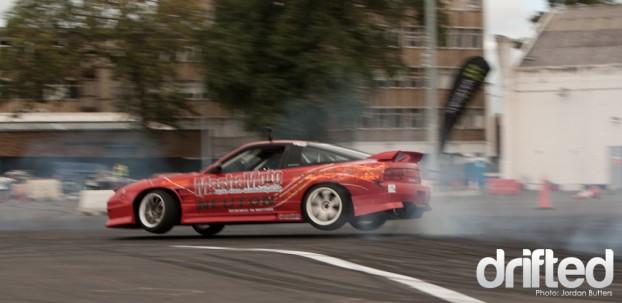 Jump Drift S13 Jon Calvert Neuton Tyres