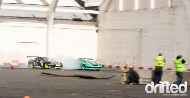 Falken Wander vs Nigel Colfer drifting