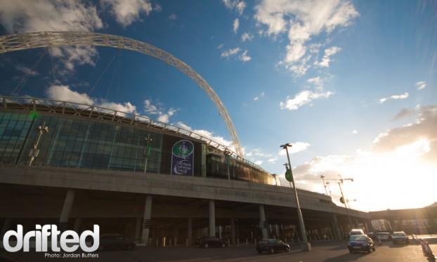 Wembley Stadium Arena Arch