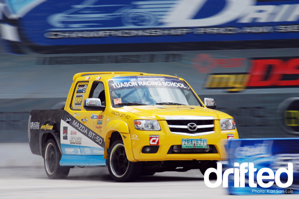 Mazda BT-50 Drifted