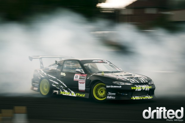 Nigel Colfer s13 180sx 1JZ drift