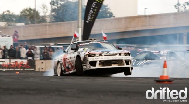 Jump drift 180sx