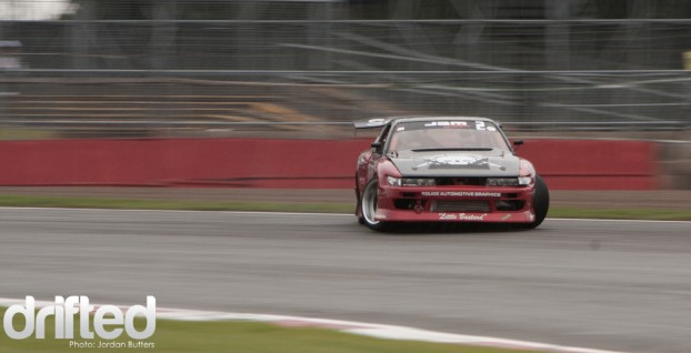 Fink Drifting Silverstone