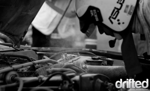 Engine car fire