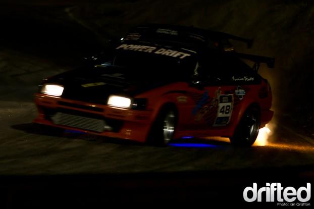 AE86 Drift Flame Exhaust