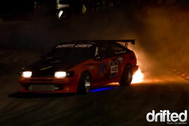 Quattro Flames Corolla