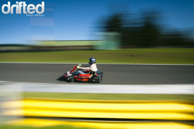 Go Karting Panning Knockhill