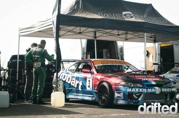 Shane Lynch Nissan Silvia S15 200sx Twin turbo V8