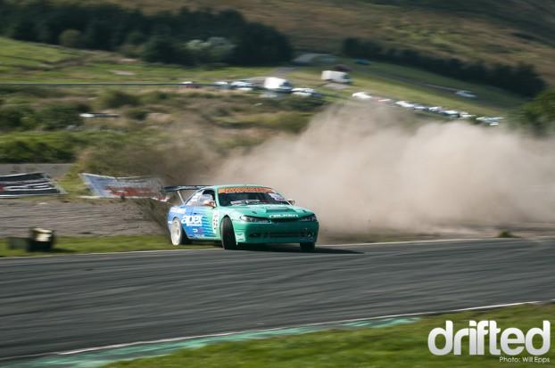 Nissan Silvia 200sx S14.5 Team Green