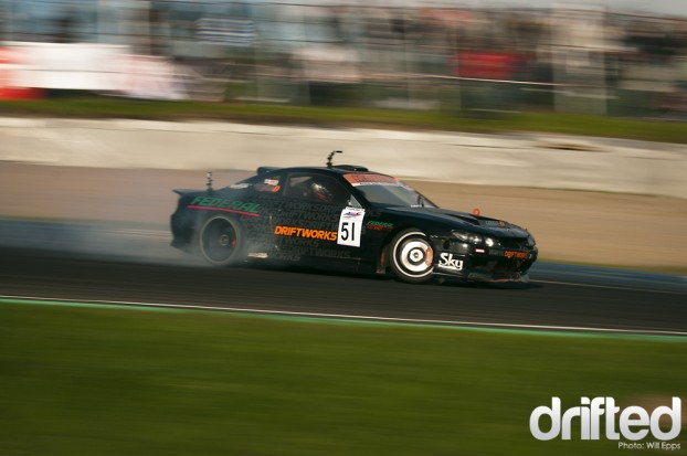 Driftworks Nissan Silvia S15 2JZ Engine Conversion
