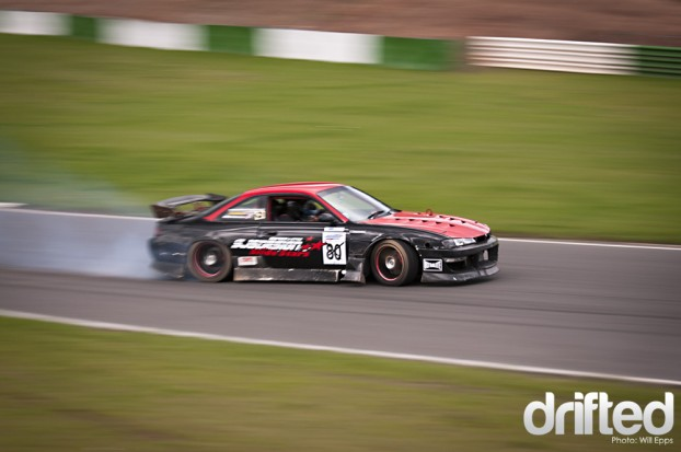 Drifting | Drifted - 1JZ powered S14a 200sx Nissan Toyota Drift Mallory