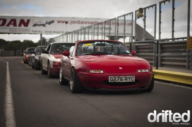 Drifting | Drifted - MX5 Mallory Park Drifting Drifted NA6c