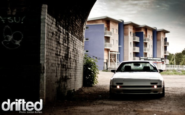 Slammed Low FC FC3S Stance fitment flush