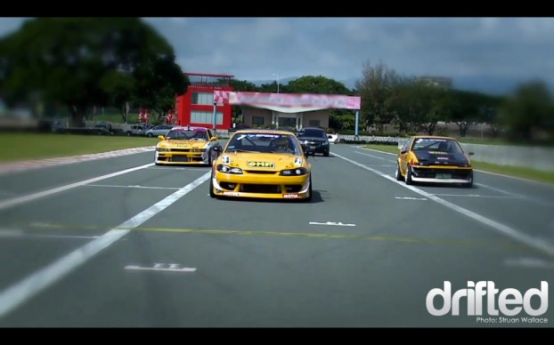 Struan Wallace Drift Philippines Wreckless Yellow Cab