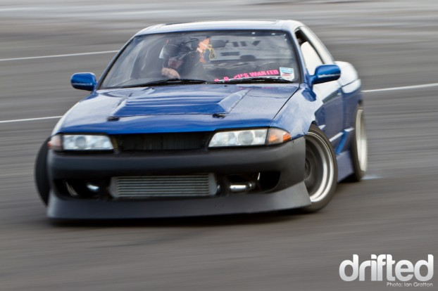 R32 Skyline drift