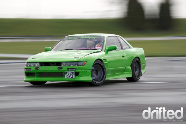 Silvia Drift Green bright Colour