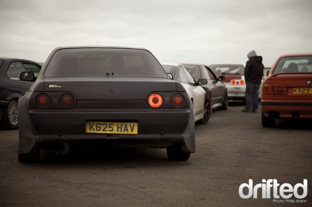 Nissan Skyline at Santa Pod