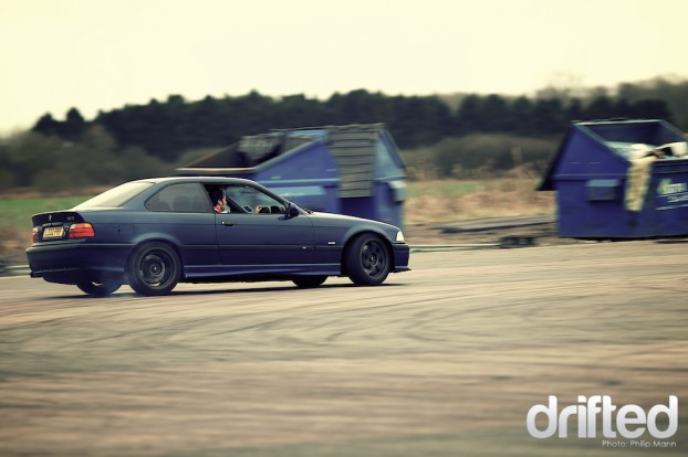 BMW E36 at Santa Pod