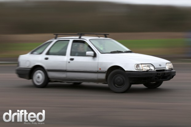 Ford Sierra at Santa Pod