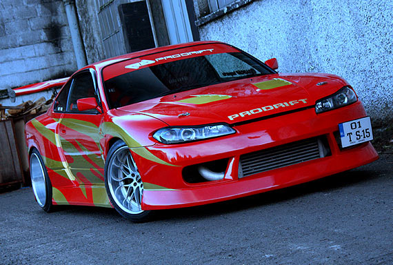 DRIFT CAR: Garage Life BN Sports S15