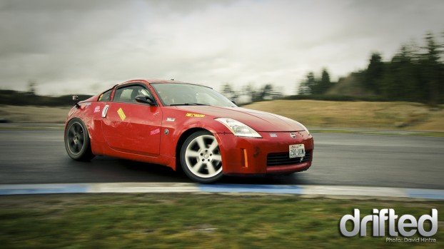 pacific grand prix drifting 350Z