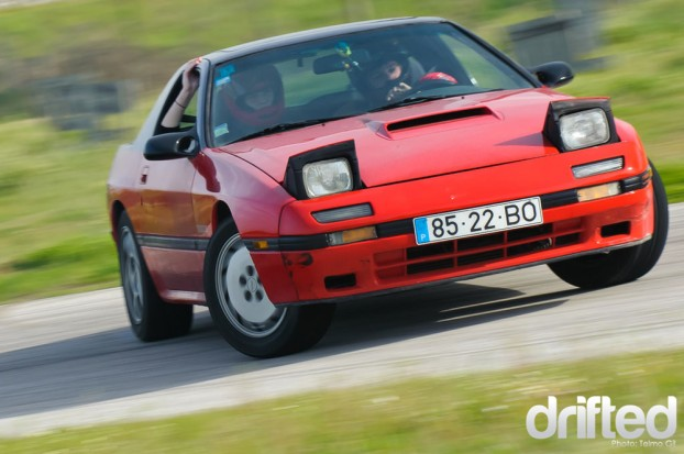 RX7 FC FC3S Drifting