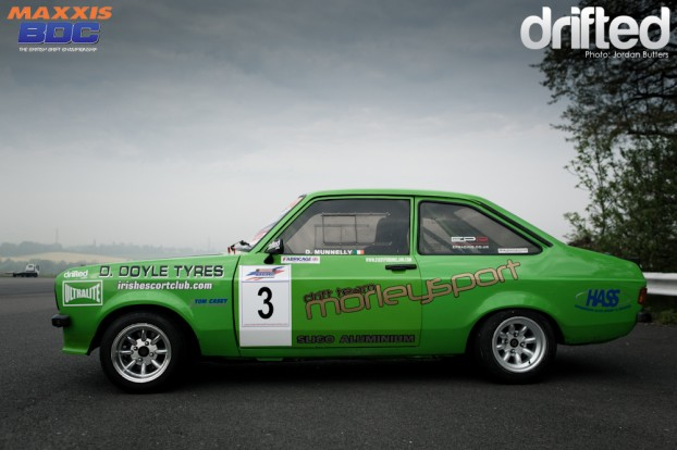 Mk2 Escort drift