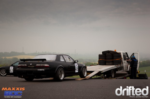 PS13 Silvia unloading
