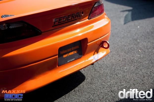 DWS15 rear