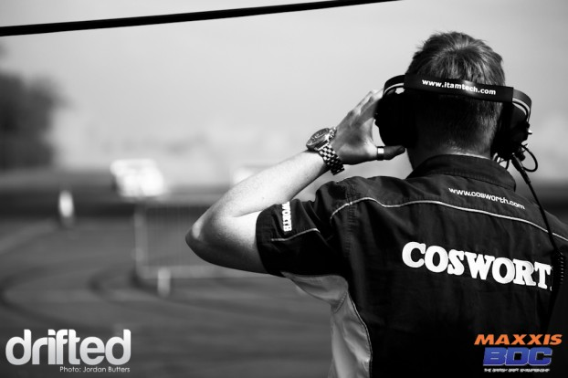 SATS Cosworth drift
