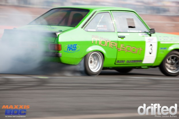 Ford Escort sideways