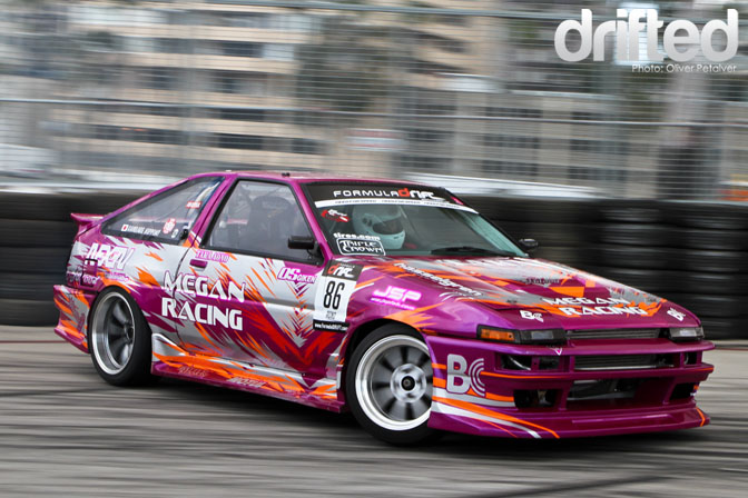 Taka Aono AE86 Megan Racing Long Beach