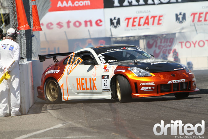 Matt Waldin 350Z Long Beach