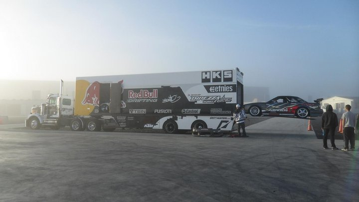 drift car transporter