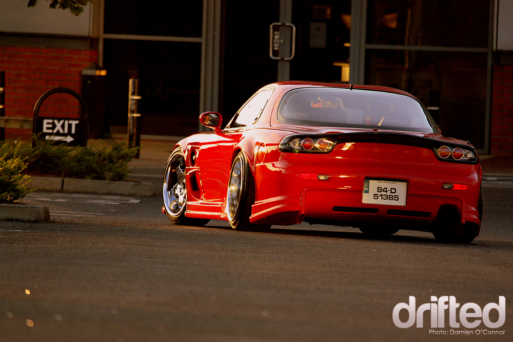 Mazda RX7 FD3s Drifted a Family affair car feature