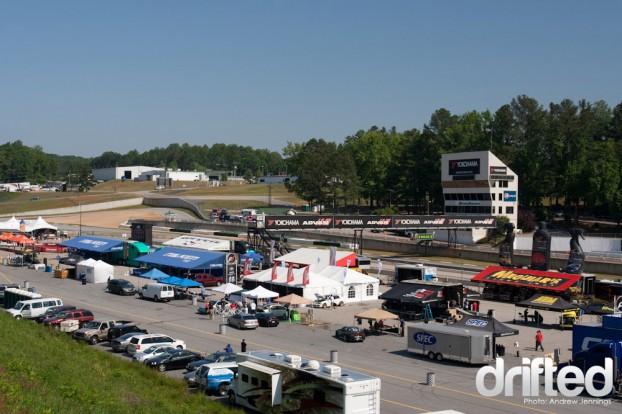Formula Drift Road Atlanta Paddock