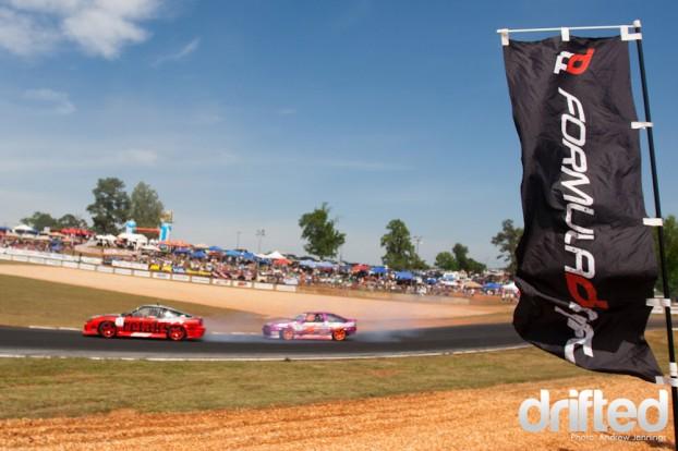 Formula Drift Road Atlanta 2011 - Yoshioka vs Russakoff