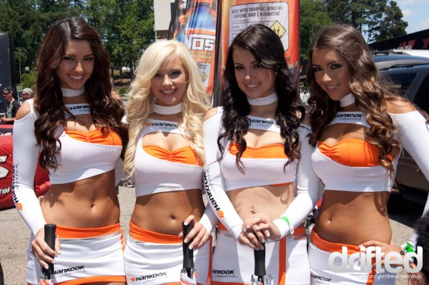 Hankook Racing Umbrella Girls
