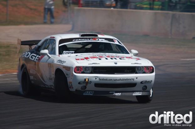 Samuel Hubinette Dodge Challenger Drift