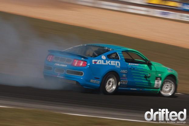 Justin Pawlek Falken Tires Ford Mustang Drift