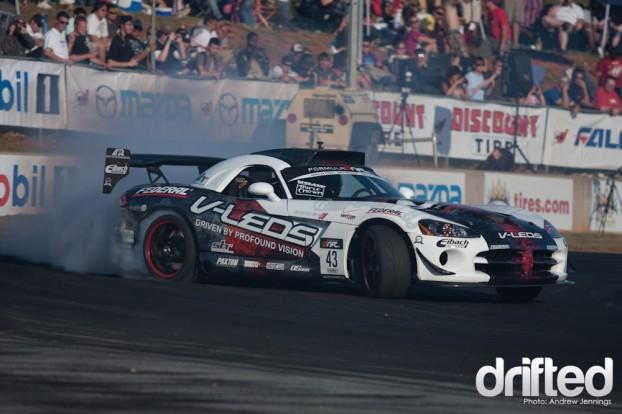 Dean Kearney Dodge Viper Drift