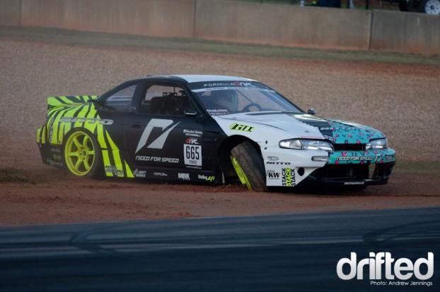 Matt Powers Team Need for Speed Nitto Tires Nissan S14