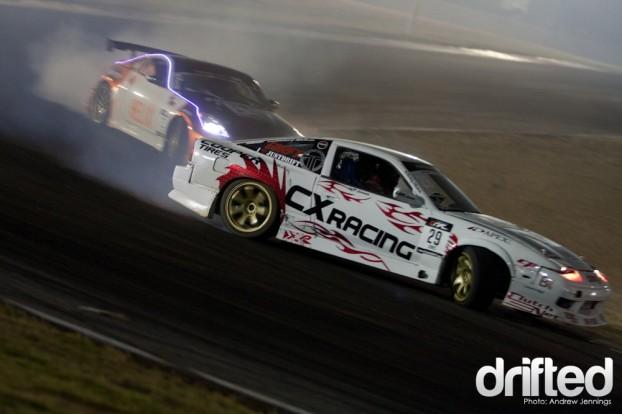 Matt Waldin vs. Jeff Jones Drift Battle