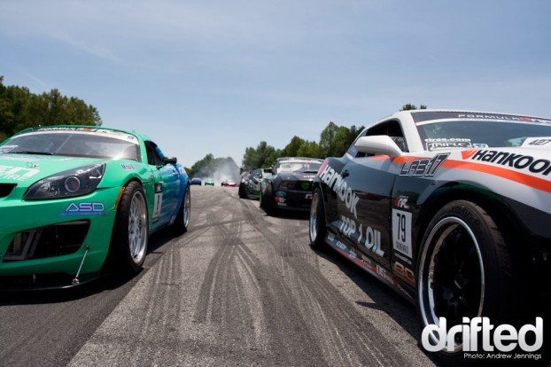 Qualifying for Formula Drift Road Atlanta