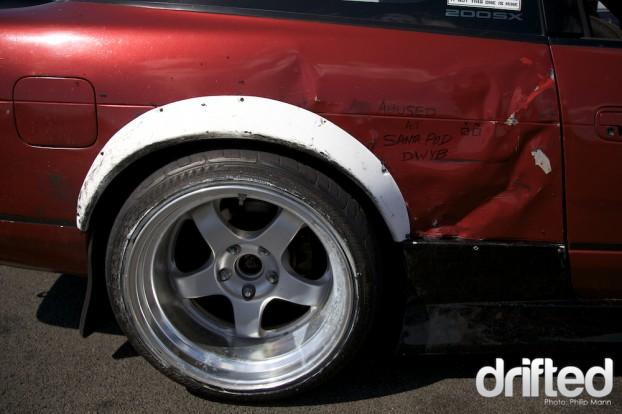 Used and abused at Santa Pod DWYB