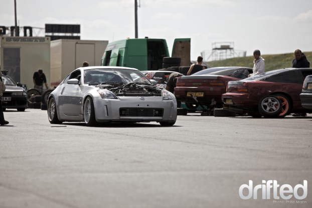 Stillen Supercharged 350Z at Santa Pod