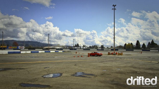 evergreen drift school track course