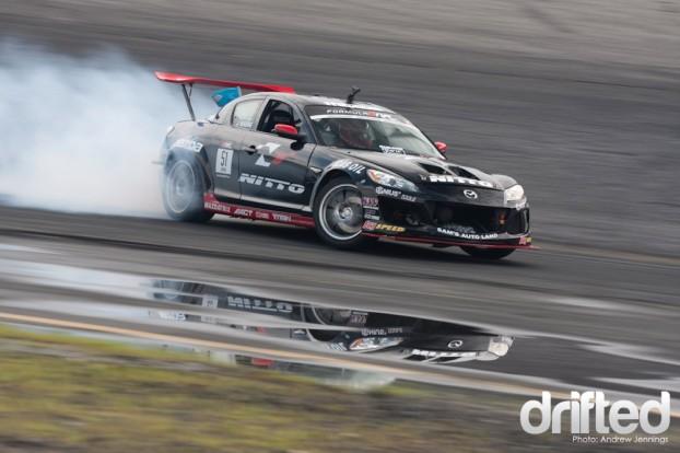 Joon Maeng Bergenholtz Racing Mazda Nitto RX-8